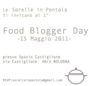 1° Food Blogger Day