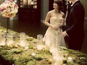 Wedding moss: muschio decorazioni