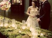 Wedding moss: muschio decorazioni