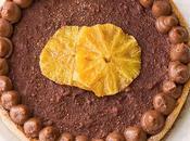 Crostata Arance Caramellate Cioccolato