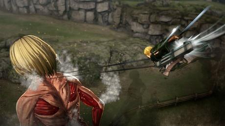 Nuovi dettagli sul gameplay di Attack on Titan