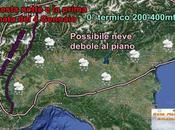 Nevicate fino piano Pianura Padana altre nella prossima notte
