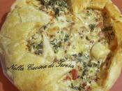 Torta rustica cotechino lenticchie