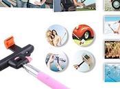 Come scattare selfie perfetto? AGPtek 3-in-1 bastone Bluetooth Remote