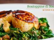 Nasello lime spinaci