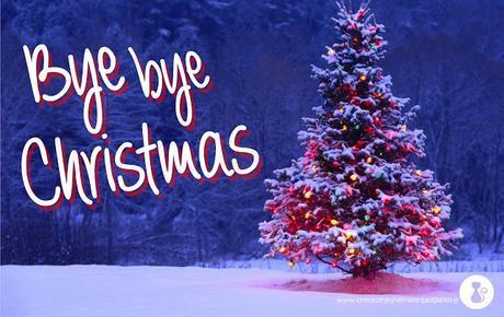 Bye bye Christmas - Book Tag