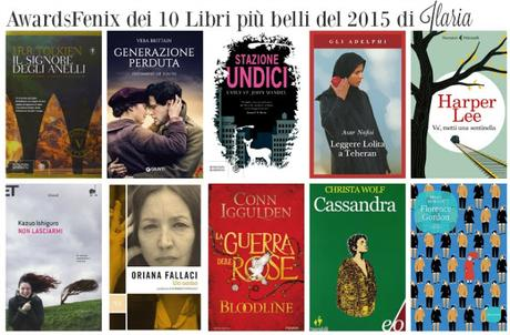 awardsfenix classifica dei libri pi belli letti nel