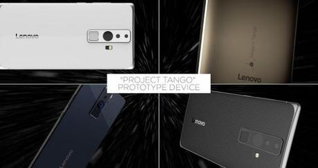 Lenovo Project Tango Google