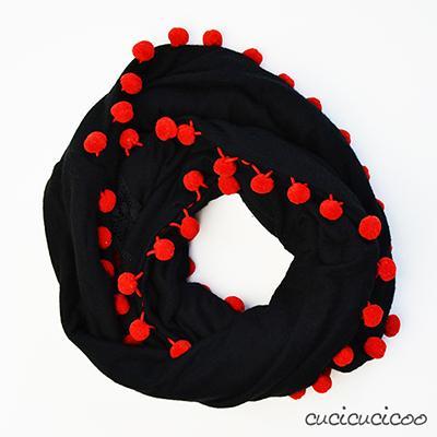 massimo stile l'atteggiamento migliore shop Come cucire una sciarpa ad anello (1 o 2 colori) - Paperblog