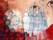 MILANO: MOHSEN TAASHA WAHIDI: BEYOND CURTAIN mostra personale cura Marco Menenguzzo