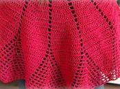 Mantellina della nonna uncinetto: finita anche quella rossa!