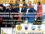 Prevenzione incidenti valanga 2016