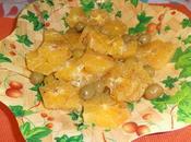 L'insalata arance tipica della cucina spagnola sic...