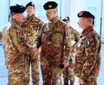 Trapani/ Reggimento Bersaglieri. Comandante Comando Delle Forze Difesa visita