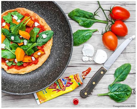 Pizza lowcarb semplice veloce sana | Simple, fast and healthy lowcarb pizza