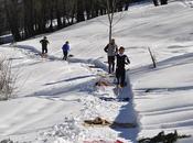 Scalzi Macugnaga, nella neve, come Russia