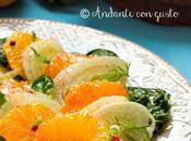 Insalata arance finocchiella spinaci novelli pepi Giornata Nazionale dell'insalata Arance Finocchi