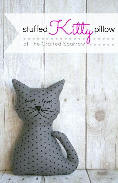 Free Printable Stuffed Cat Patterns