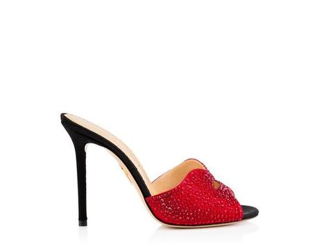 Kiss my feet by Charlotte Olympia