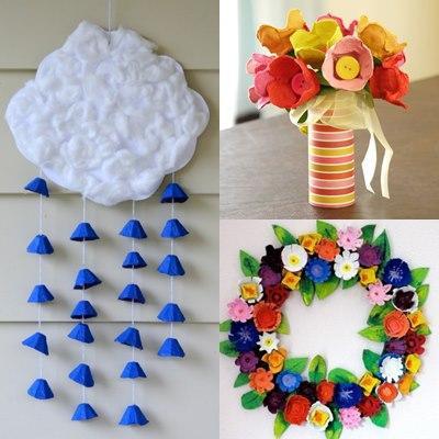 Idee per riciclare i cartoni delle uova paperblog - Idee per riciclare ...
