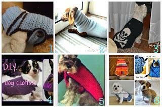10 cappottini per cani uncinetto ferri e riciclo - Tutorial in italiano
