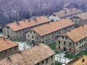 campo Auschwitz visto drone