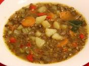 Zuppa lenticchie patate