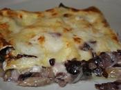 Lasagne radicchio gorgonzola