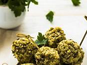Polpette fagioli verdi mung cous ricetta vegana