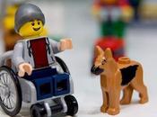 Novita' casa Lego: primo omino Lego sedia rotelle!
