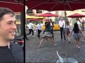 Proposta matrimonio flash mob: video commovente