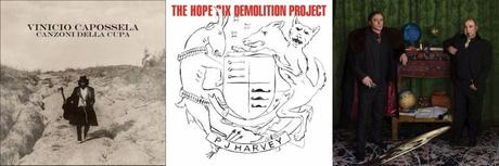 Album che attendo per il 2016: Vinicio Capossela - Le canzoni della cupa PJ Harvey - The Hope Six Demolition Project Theo Teardo Blixa Bargeld Nerissimo