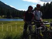 Mountain bike Engadina verso passo Bernina