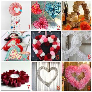 10 decorazioni fai da te a forma di cuore paperblog - San valentino decorazioni ...