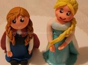Elsa Anna Frozen pasta zucchero