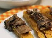 Crostini polenta funghi