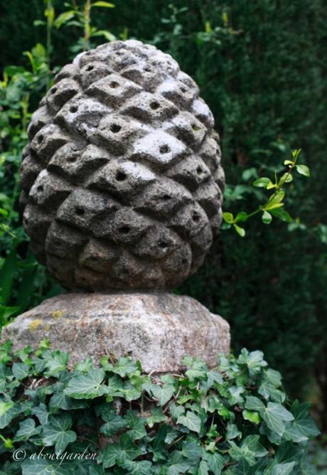 Pigne nell arredo giardino paperblog for Arte nell arredo