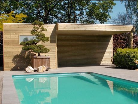 Casette in legno di design paperblog - Garage da giardino ...