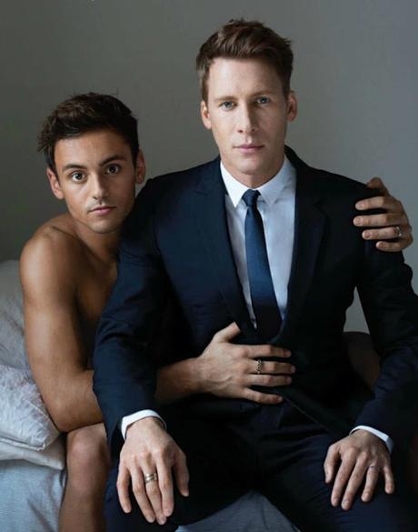 #GFDEDITORIALS: Tom Daley e Dustin Lance Black on Out Magazine.