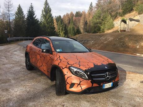 GLA 200 Enduro by Mercedes Benz