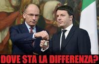 Letta Renzi, dove differenza?