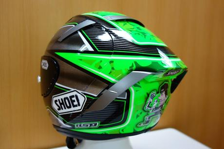 Shoei X-Spirit III E.Laverty 2016 by ASD - painted by Shoei
