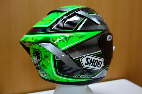 Shoei X Spirit Iii E Laverty 2016 By Asd Painted By