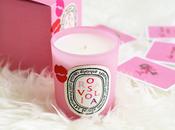 Diptyque, Rosaviola: candela perfetta Valentino