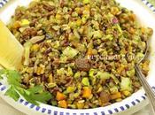 Riso integrale speziato pistacchi uvetta
