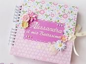 Album Bimba Battesimo colori tenui Babygirl Baptism soft colors