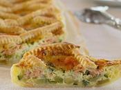 Torta salata zucchine salmone