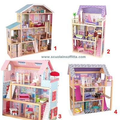Le pi belle case delle bambole in legno paperblog for Arredamenti delle case piu belle