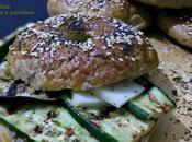 Bagel Melanzane Zucchine Provolone piccante- Re-Cake