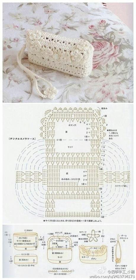 Borse E Pochette Fai Da Te 8 Schemi Crochet Gratis Paperblog